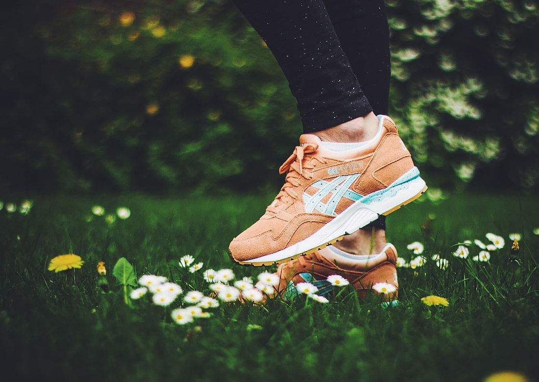 Asics Gel-Lyte V Full Bloom »Coral Reef«